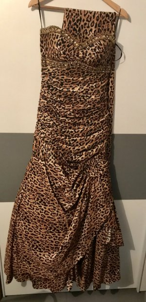 Abendkleid in Leopard Look