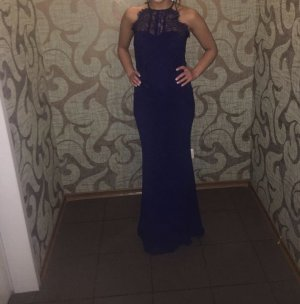 Abendkleid in marineblau