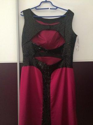 Abendkleid in pink/fuchsia