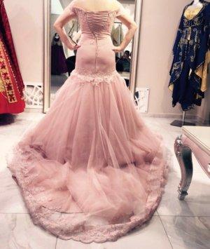 Abendkleid in rose und gutem zustand