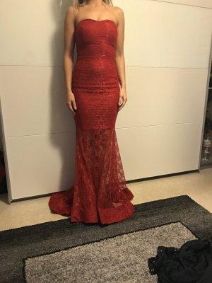 Abendkleid in Rot Neupreis lag bei 99 Euro
