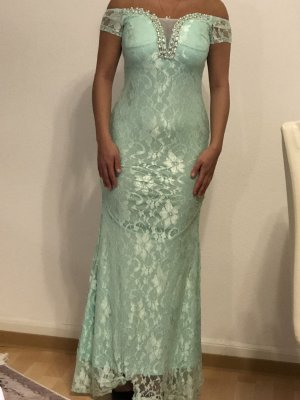 Abendkleid in Türkis