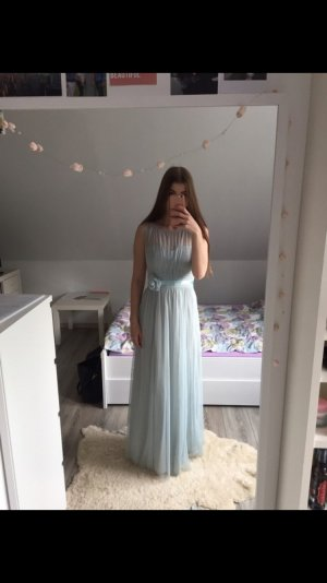 Abendkleid in Türkis/ Minze