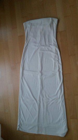 Abendkleid in weiß, lang