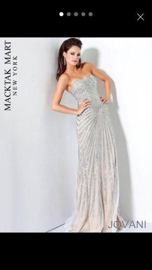 Jovani Moda color plata-nude Poliéster