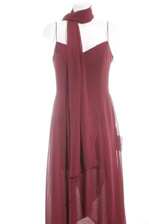 Abendkleid karminrot Elegant