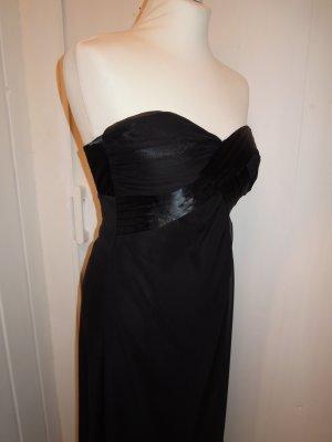 Laura Scott Vestido de chifón negro