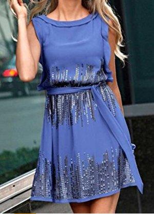 Abendkleid kleid dress flieder Blau von Vince Camuto NP: 149€