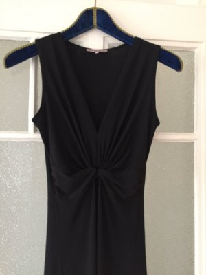 Abendkleid lang Anna Field, schwarz, raffung, schlicht