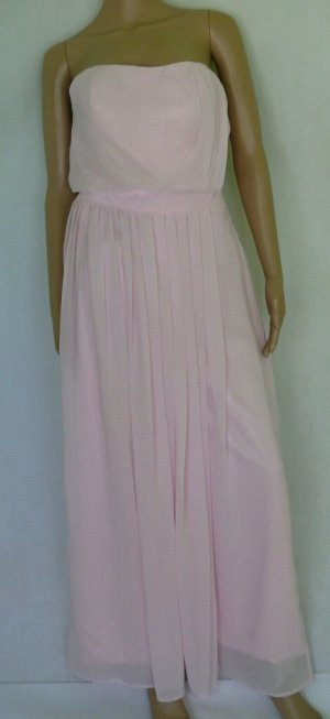 Light In The Box Vestido bandeau rosa claro-rosa