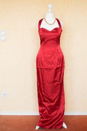 Abendkleid - lang - rot