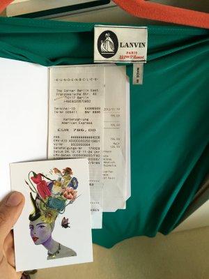 Abendkleid Lanvin , neue , Größe 38 (M) Sehr gute Zustand, grüne Farbe