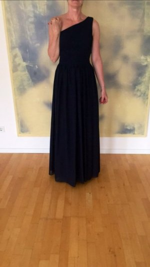 Abendkleid - Maßanfertigung in dunkelblau - neu