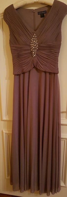 Abendkleid, mauve, Gr.38, NEU