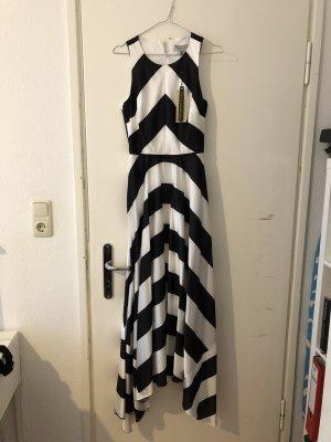 Coast Maxi Dress white-black