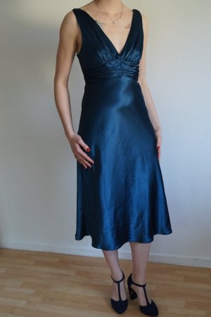 Abendkleid Midi Knielang mit Rückenausschnitt