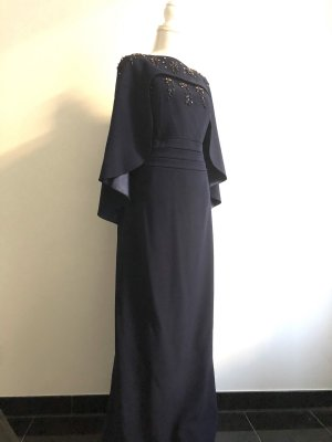 Ariella Evening Dress dark blue