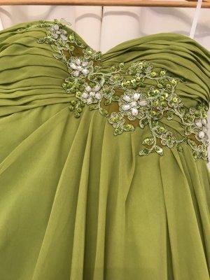Corsage Dress grass green