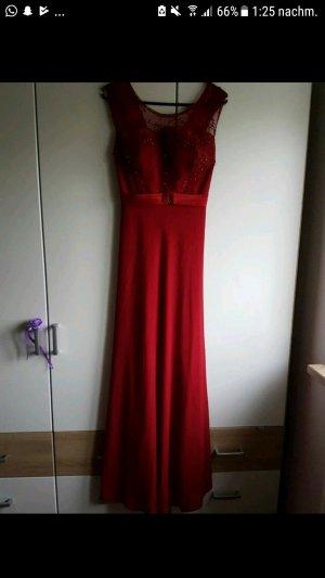 Abendkleid mit Details Maxi