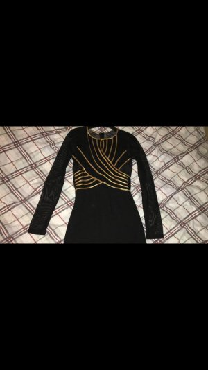 Abendkleid mit Transparenten Ärmeln Armen / Hochzeitskleid /Abschlusskleid mit schleppe