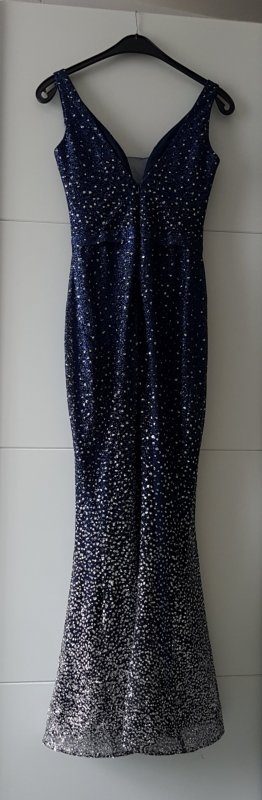 Abendkleid navy