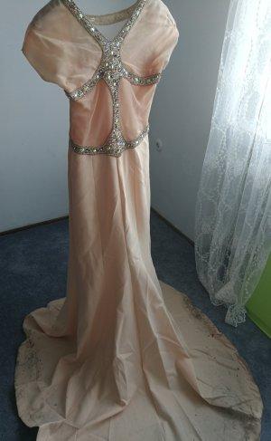 Abendkleid Nude