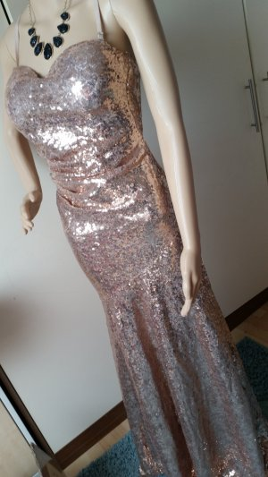 Abendkleid Nude Rose 34
