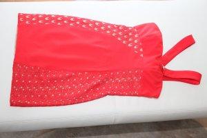 Abendkleid  Partykleid CocktailKleid von Versace rot  Seide Gr. 34