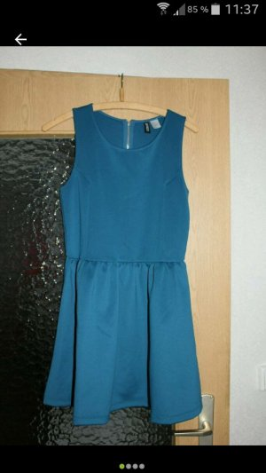 Abendkleid Partykleid türkis H&M Gr. S