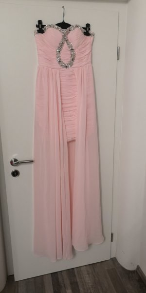 High Low Dress rose-gold-coloured-light pink
