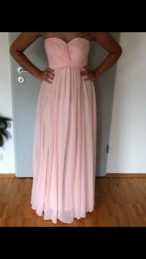 Vestido corsage rosa claro