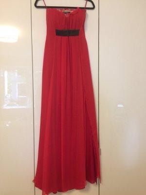 Abendkleid rot aus Seide
