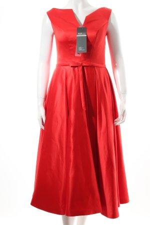Abendkleid rot Eleganz-Look