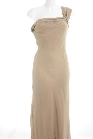 Abendkleid sandbraun Elegant