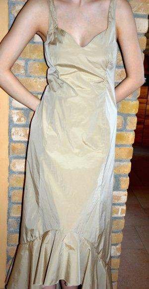 Abendkleid sandfarben