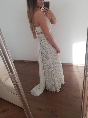 Abendkleid Schleppe Weiß
