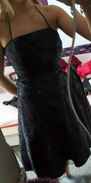 Abendkleid schwarz 32/34