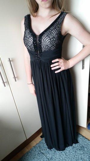 Abendkleid schwarz 36