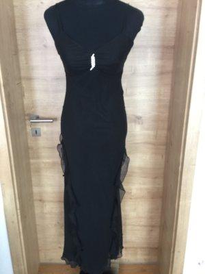Abendkleid schwarz apart Strass Gr 34