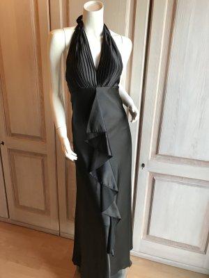 Abendkleid schwarz Cocktailkleid Sixties lang Abiball