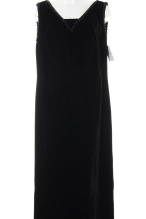 Robe de soirée noir élégant