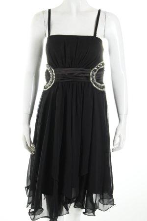Abendkleid schwarz Eleganz-Look