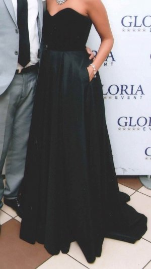 Abendkleid schwarz. Größe 34