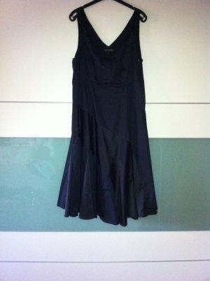 Abendkleid, schwarz, knielang