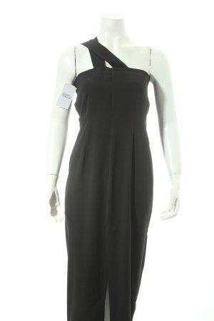 Evening Dress black minimalist style