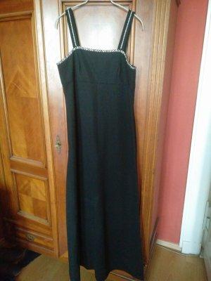 Trevira Robe de soirée noir polyester