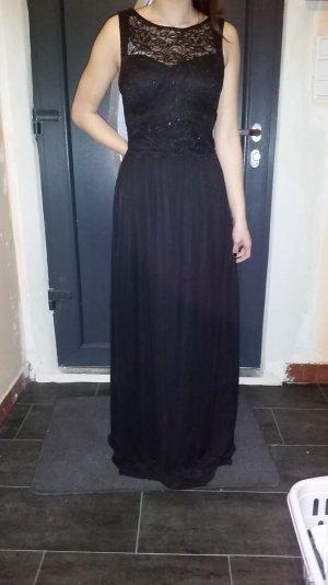 Abendkleid schwarz Nightway 38