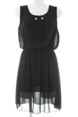 Abendkleid schwarz Paris-Look