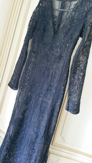 Laura Ashley Lace Dress black