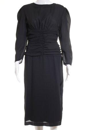 Abendkleid schwarz Vintage-Look